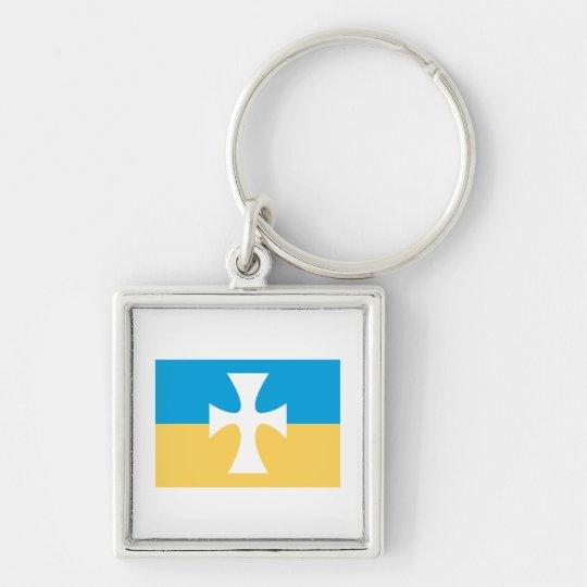 Sigma Chi Flag Keychain