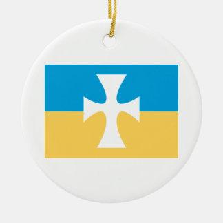 Sigma Chi Flag Ornament