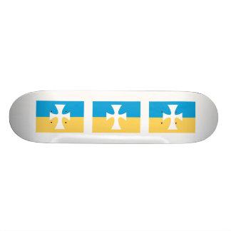 Sigma Chi Flag Skateboard Deck
