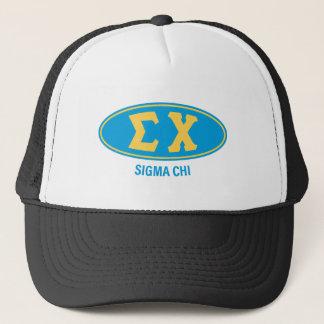 Sigma Chi   Vintage Trucker Hat