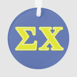 Sigma Chi Yellow Letters
