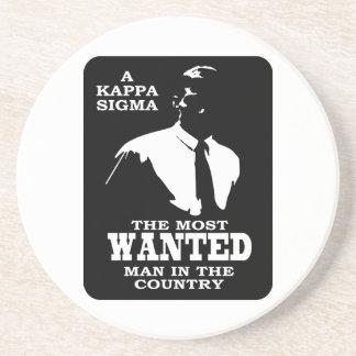 Sigma de Kappa - el más deseado Posavasos De Arenisca