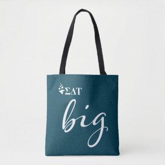 Sigma Delta Tau   Big Script Tote Bag