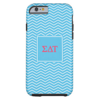 Sigma Delta Tau | Chevron Pattern Tough iPhone 6 Case