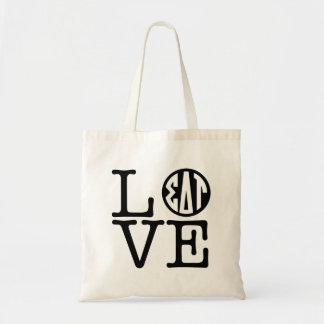 Sigma Delta Tau   Love Tote Bag