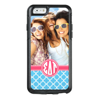 Sigma Delta Tau | Monogram and Photo OtterBox iPhone 6/6s Case