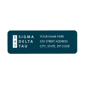 Sigma Delta Tau | Stacked Label
