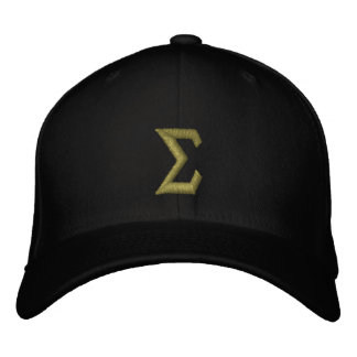 Sigma Embroidered Baseball Hat
