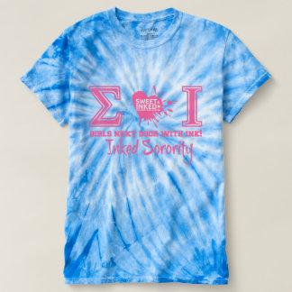 Sigma Iota Tie Die T-shirt