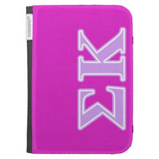Sigma Kappa Lavender Letters Kindle Covers