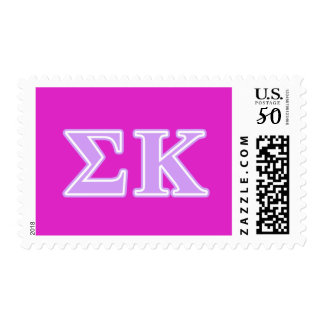 Sigma Kappa Lavender Letters Postage
