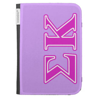 Sigma Kappa Pink Letters Kindle 3G Cover
