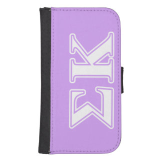 Sigma Kappa White and Pink Letters Phone Wallet Cases