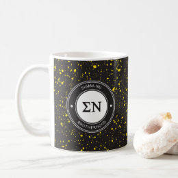 Sigma Nu | Badge Coffee Mug