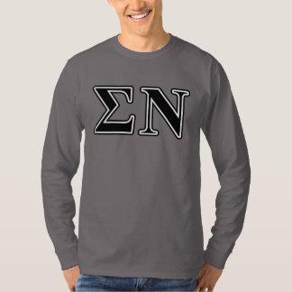 Sigma Nu Black T-shirt