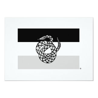 Sigma Nu Flag Gray Card