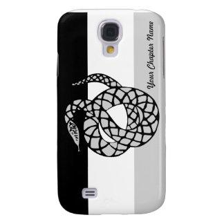 Sigma Nu Flag Gray Samsung Galaxy S4 Case