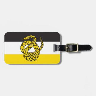 Sigma Nu Flag Tag For Luggage