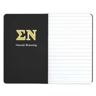 Sigma Nu Gold Letters Journals