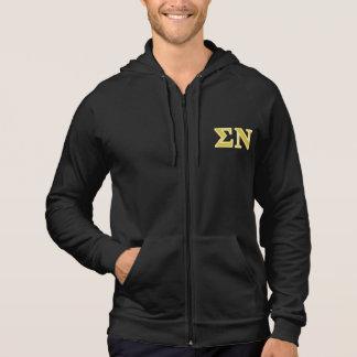 Sigma Nu Gold Letters Sweatshirt