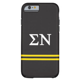 Sigma Nu | Sport Stripe Tough iPhone 6 Case