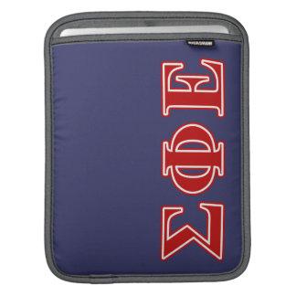 Sigma Phi Epsilon Red Letters iPad Sleeve