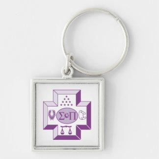Sigma Pi Cross Color Keychains