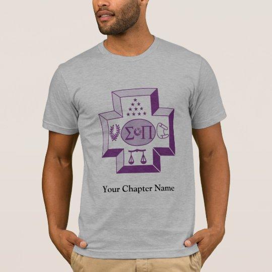 Sigma Pi Cross Color T-Shirt