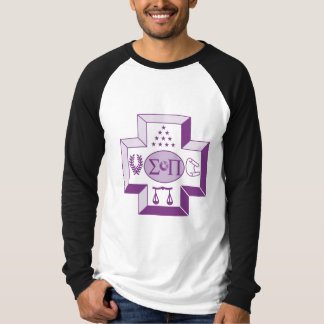 Sigma Pi Cross Color T-Shirt