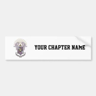 Sigma Pi Good Crest 4-C Bumper Sticker