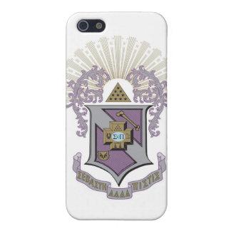 Sigma Pi Good Crest 4-C iPhone 5/5S Cases