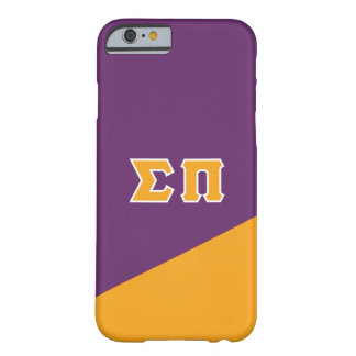 Sigma Pi | Greek Letters Barely There iPhone 6 Case