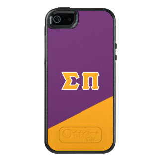 Sigma Pi | Greek Letters OtterBox iPhone 5/5s/SE Case