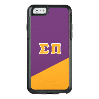 Sigma Pi | Greek Letters OtterBox iPhone 6/6s Case