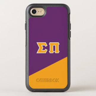 Sigma Pi | Greek Letters OtterBox Symmetry iPhone 8/7 Case