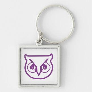sigma pi owl color keychain