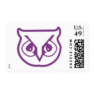 Sigma Pi Owl Color Postage