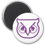 Sigma Pi Owl Color Refrigerator Magnets