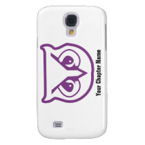 Sigma Pi Owl Color Samsung S4 Case