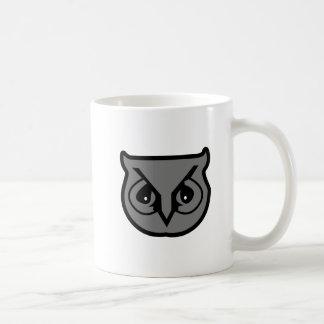 Sigma Pi Owl Gray Coffee Mug
