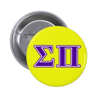 sigma pi purple letters button