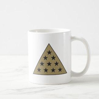 Sigma Pi Pyramid Gold Coffee Mug