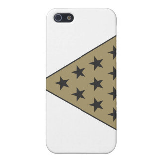 Sigma Pi Pyramid Gold Cover For iPhone SE/5/5s