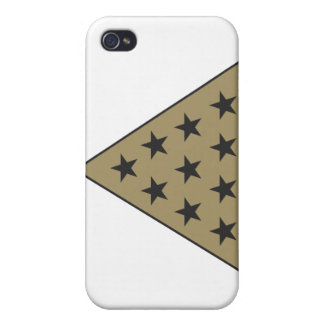 Sigma Pi Pyramid Gold iPhone 4/4S Cover