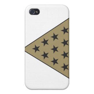 Sigma Pi Pyramid Gold iPhone 4 Cases