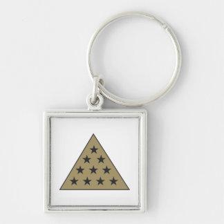 Sigma Pi Pyramid Gold Key Chains