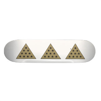 Sigma Pi Pyramid Gold Skateboard
