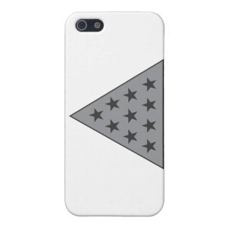 Sigma Pi Pyramid Gray Case For iPhone SE/5/5s