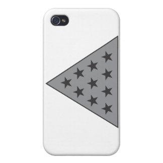 Sigma Pi Pyramid Gray iPhone 4/4S Case