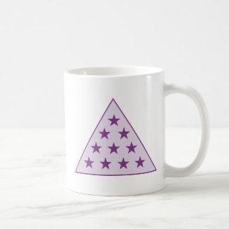 Sigma Pi Pyramid Purple Coffee Mug